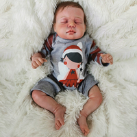 OtardDolls Bebe Baby Reborn Doll 22inch 55cm Silicone Vinyl Bebe Reborn Dolls Adorable Lifelike Toddler For Gift Fast Shipping