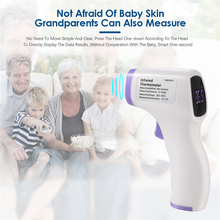 цена на Digital Non-Contact Home Contact Type Temperature Tool IR Infrared Thermometer Temperature Measurement Adult Kids Thermometer