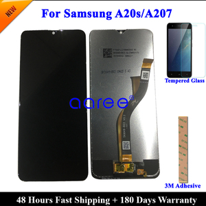 LCD Display For Samsung A20S LCD A207F/DS A207 LCD For Samsung A20S A207 LCD Screen Touch Digitizer Assembly(China)