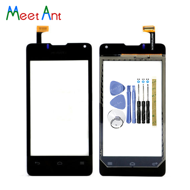 """High Quality 4.0"""" For Huawei Ascend Y300 U8833 Touch Screen Digitizer Sensor Outer Glass Lens Panel Black White"""