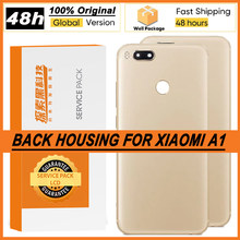 100% Original Back Housing for Xiaomi A1 MI 5X Back Cover Battery Glass Rear Repair Parts
