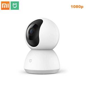 Image 1 - Новая смарт камера Xiaomi Mijia 1080P, ip камера, видеокамера с углом обзора 360 градусов, Wi Fi, беспроводное ночное видение для приложения mi Smart Home, 2019