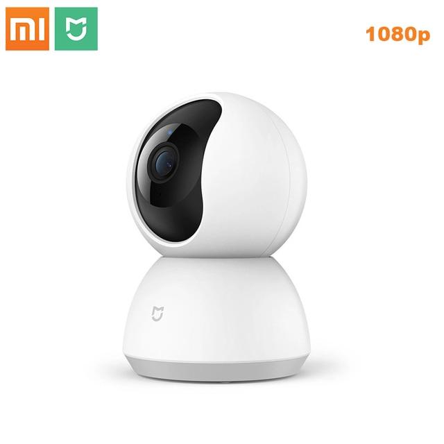 Новая смарт камера Xiaomi Mijia 1080P, ip камера, видеокамера с углом обзора 360 градусов, Wi Fi, беспроводное ночное видение для приложения mi Smart Home, 2019