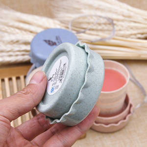 Folding-Cups Tea-Cup Telescopic-Cover Wheat-Straw Coffee-Tea Drinking-Water Travel Portable
