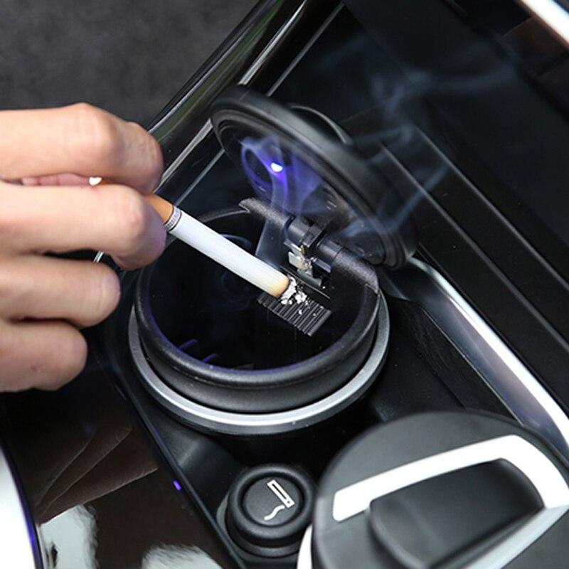 Автомобильная пепельница с светодиодный для hyundai ix35 iX45 iX25 i20 i30 Sonata, Verna, Solaris, Elantra, Accent, Veracruz, Mistra, Tucson, Santa Fe