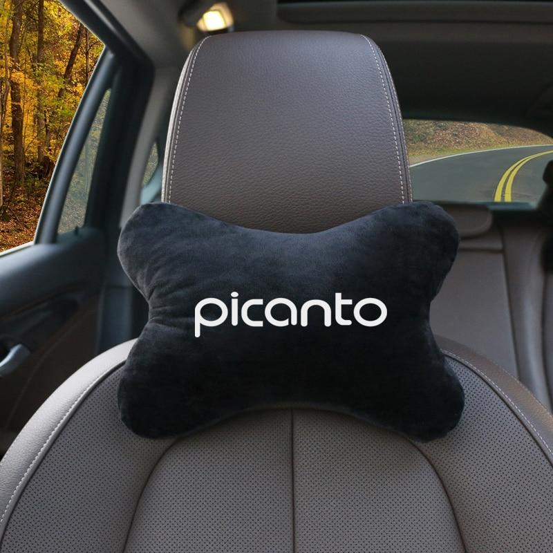 1 шт. автомобильное сиденье, подставка для головы и шеи, Женская подушка для KIA Picanto 2017 2018 2019, автомобильные аксессуары
