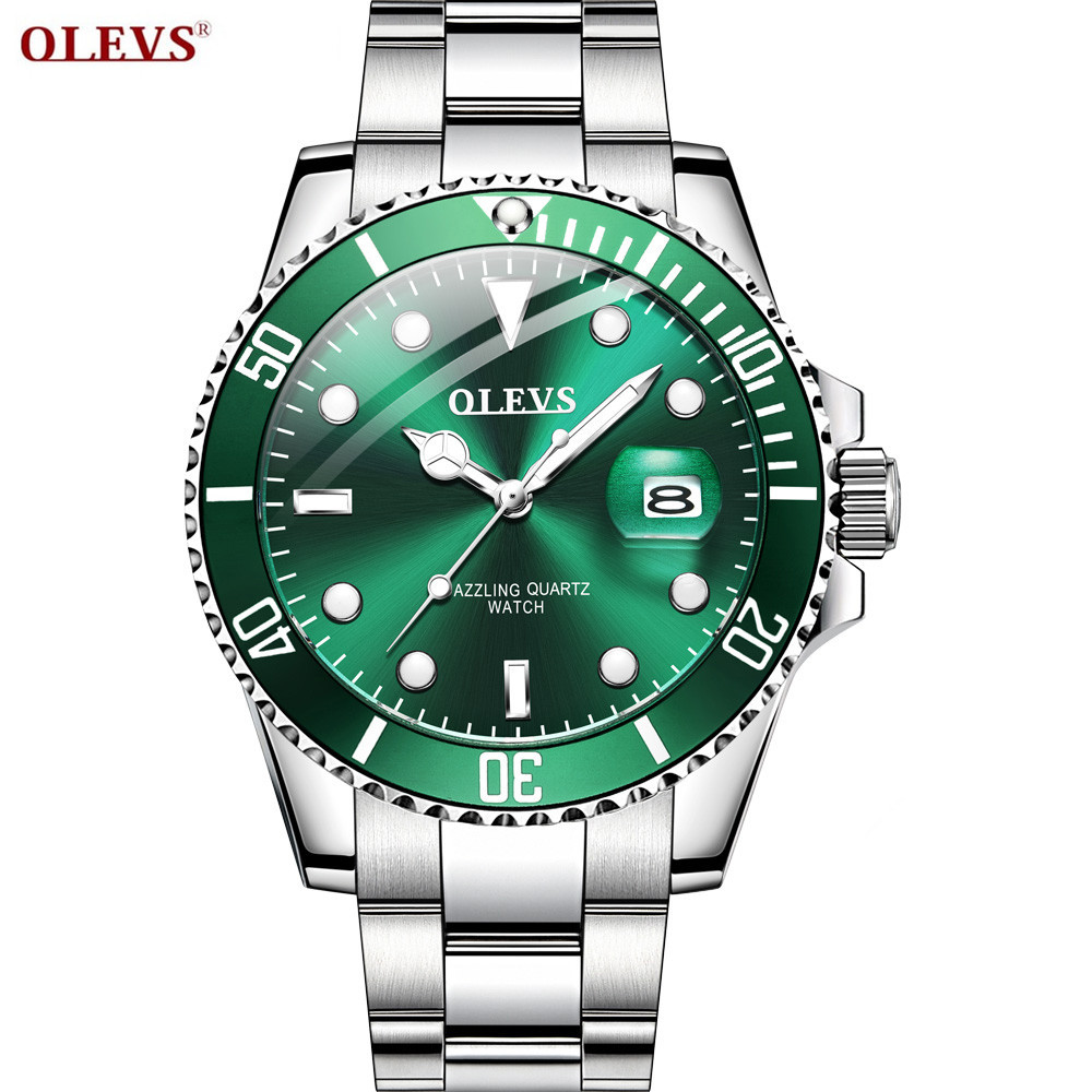 OLEVS Business Luxury Men Watch Sport Smart Male Watches Dial Quartz Watch Male Waterproof Luminous Clock Birthday Gift