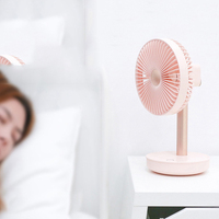 P19 Feng Xu Fan USB Charging Automatic Rotating Desktop Fan Students Desktop Super Quiet 7 inch Table Fan