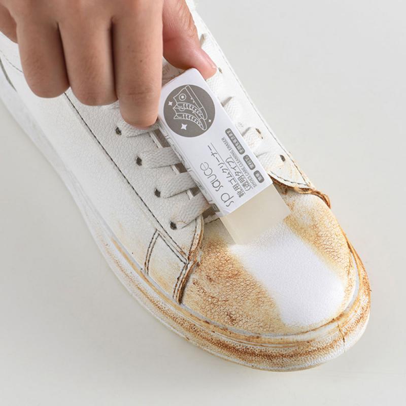 1Pcs Multi-functional Cleaner Melamine Sponge Magic Sponge Clean Eraser Shoes Cleaning Eraser For Kitchen Bathroom Cleaning Tool