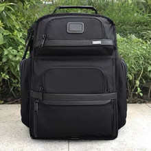 Viagem de conto masculino balístico náilon mochila saco do computador marca portátil saco de volta