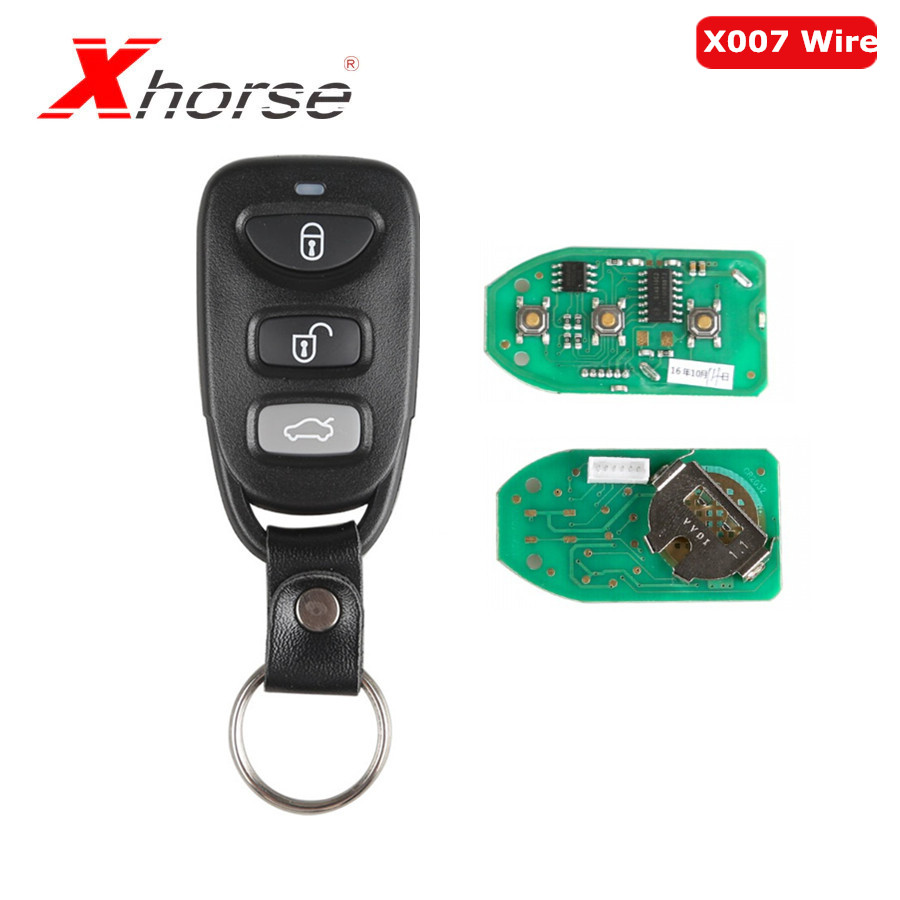 Xhorse X007 Wire Remote Key VVDI2 For Hyundai Type 3 Buttons
