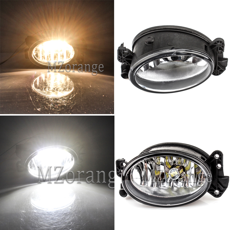 W211 Headlight W204 DRL For Mercedes-Benz W164 Headlights 2002-2009 Fog Lights Fog Lamps Fog Light Fog Lamp Day Light Foglight