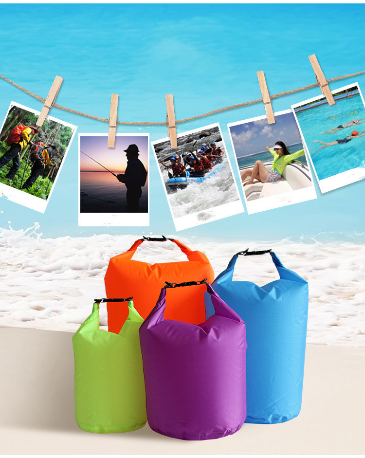 40L Outdoor Waterproof Swimming Bags Portable Dry Sack Storage Pouch Bag For Camping Hiking Trekking Boating Dropshipping