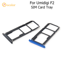 ocolor For Umidigi F2 SIM Cards Adapters For Umidigi F2 SIM Card Tray Slot Holder Replacement Mobile Phone Accessories