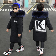 Coat Outerwear Overall-Clothing Parka Winter Kids Children Cotton for Boy Warm Thick