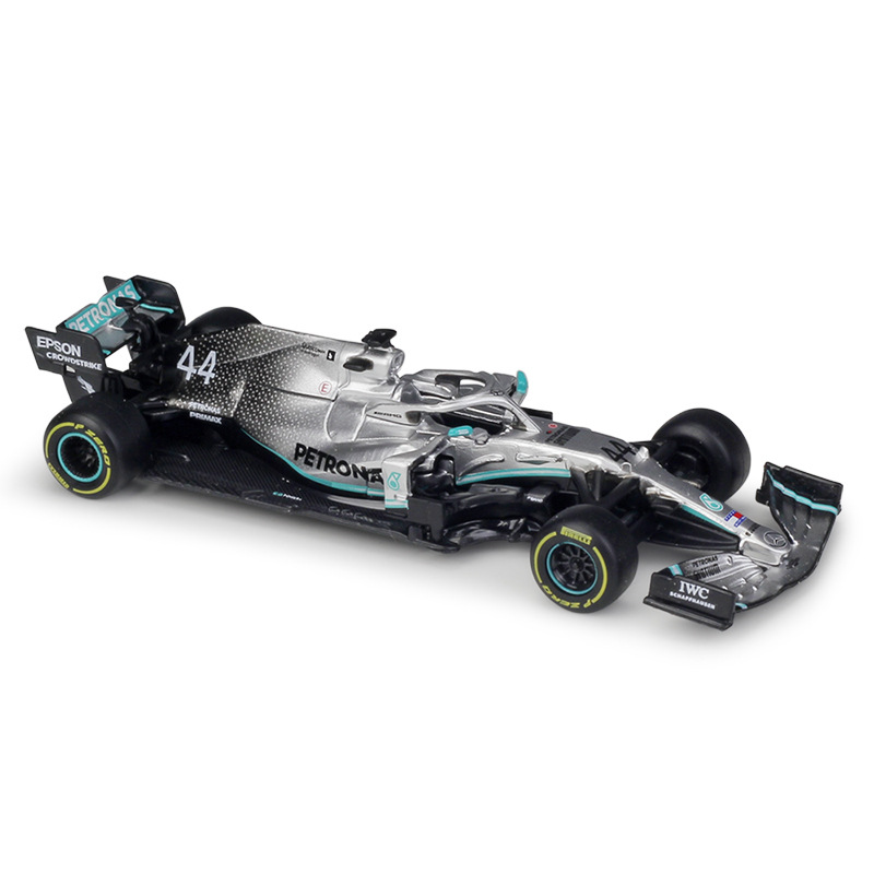 1:43 Bburago F1 2019 Mercedes Benz AMG Petronas W10 EQ Power No44 L.Hamilton No77 V.Bottas Formula One 1:32 W05 No44 Diecast Car