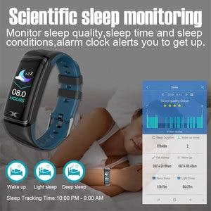 Image 3 - Smart Bracelet IP68 Waterproof 1.14inch Smart Band Heart Rate Blood Pressure Monitor Pedometer Fitness Traker Smart Wristband
