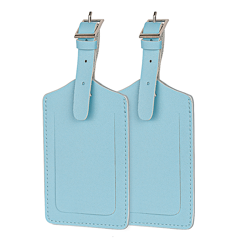 Durable Fashion Luggage Tag Microfiber Leather Women Travel Accessories Suitcase ID Address Holder Drop Ship