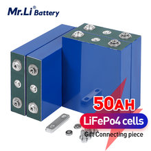 Mr.li – batterie rechargeable, 3.2V, 50ah, lifepo4, pour 12V, 50000mAh