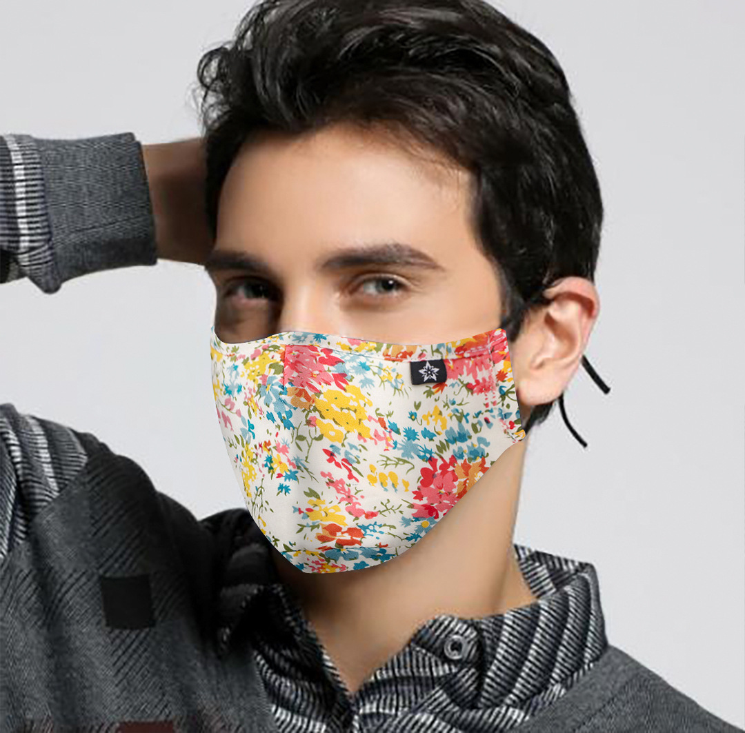 Men Women Anti Haze Dust-proof Face Mask Activated Carbon Filter Mouth-muffle