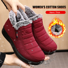 Winter Snow Boots Waterproof Women's Boots Non-slip Women sneakers 2020 Fur Warm Ankle Boots For Women Botas Mujer Big Size 40