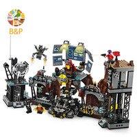 76122 1071Pcs Super Heroes Series The Batman Clayface Invasion Model Building Blocks Bricks Education Toys Gift 11353