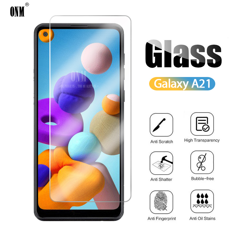 10Pcs Tempered Glass For Samsung Galaxy A21 Screen Protector For Samsung Galaxy A21 Protective Glass Film