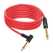 Гитарный кабель 65 мм аудиокабель «Папа папа» 1 м 2 3 5 10 15