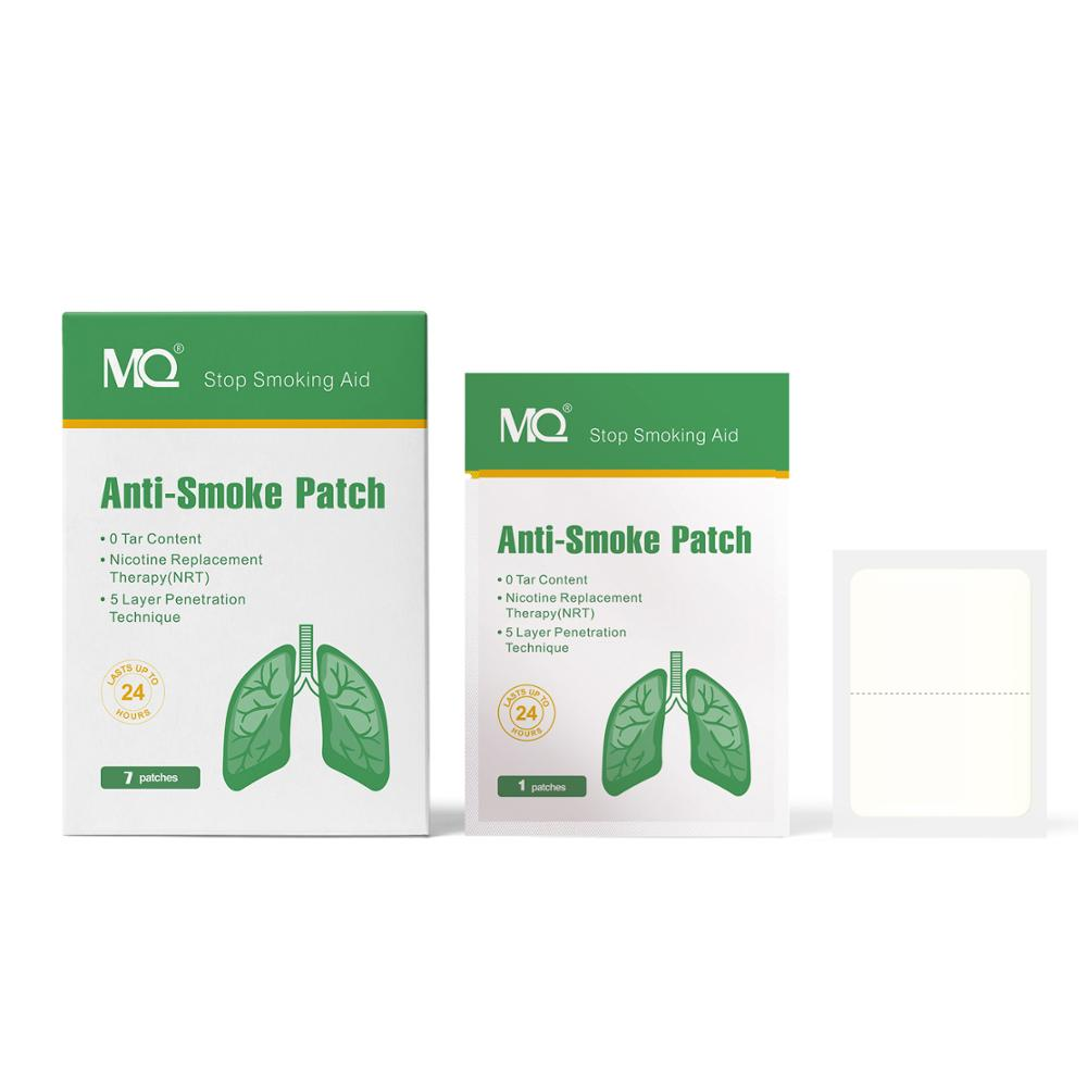 Anti Smoke Patch 21mg Nicotine Content NicotineTransdermal Patches CE Approved Fast Effective Stop Smoking Aid Support