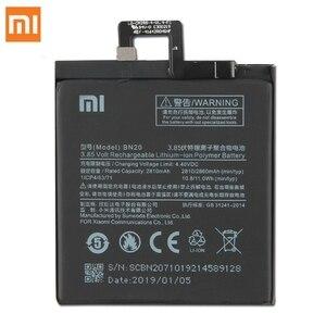 Image 2 - Xiao Mi oryginalna bateria zamienna BN20 dla Xiaomi Mi 5C M5C autentyczna bateria telefonu 2860mAh
