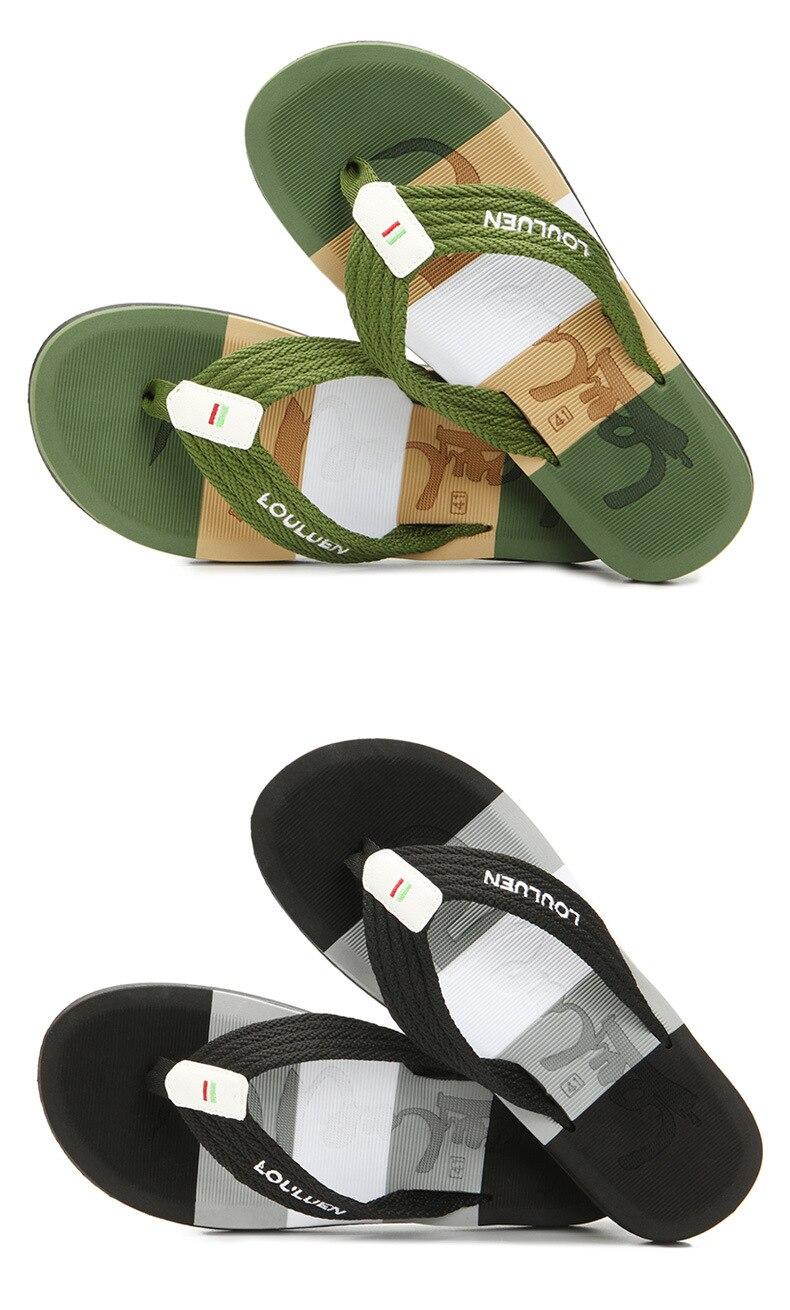 masculino indoor ou outdoor flip flops sapatos