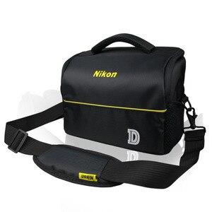 Image 5 - מתאים לניקון D7000 D90 SLR מצלמה תיק כתף נייד תיק מצלמה תרמיל תיק מצלמה תרמיל