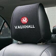 Capa de encosto de cabeça do carro quente apto para vauxhall capa de assento de carro
