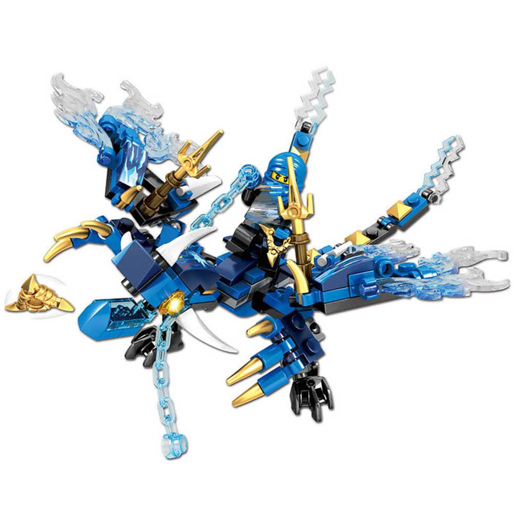 Ninja Dragon Knight Serie Pädagogisches Bausteine Spielzeug Für Kinder 6 Jahre DIY Geburtstag Präsentieren Kleine Ziegel Legoing Kompatibel