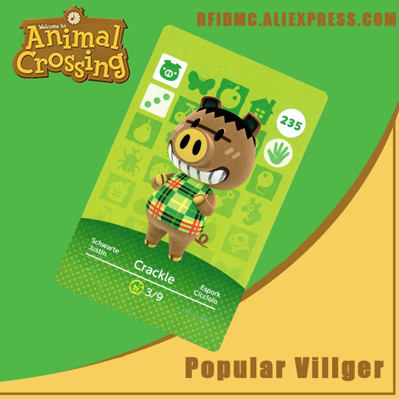 235 Spork Animal Crossing Card Amiibo For New Horizons