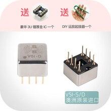 V5i S single V5i D dual op amp Fever amp ASUS sound card upgrade