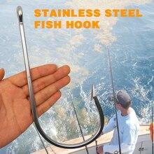 1 шт. 7731 нержавеющая сталь супер большой Акула рыболовные Крючки большая игра рыба приманка для тунца легкий очень большой Рыболовный крючок Размер 20/0