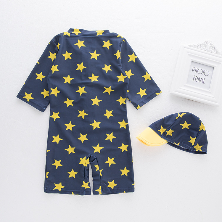 Men's One-piece Swimming Suit & Star KID'S Swimwear Hot Springs Clothing