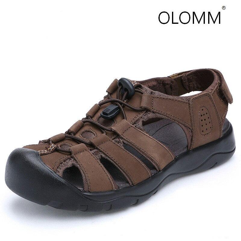 Summer New Beach Shoes England Mens Fashion Sandals Sandals Sandals Men  Zapatos De Hombre  Mens Sandals Summer