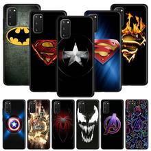 Marvel Superheroes Logo Soft Case for Samsung