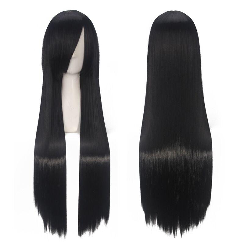 Mulan-Cosplay-Wig-80cm-Black-Long-Straight-Princess-Women-Girls-Synthetic-Hair-Wig-Cap