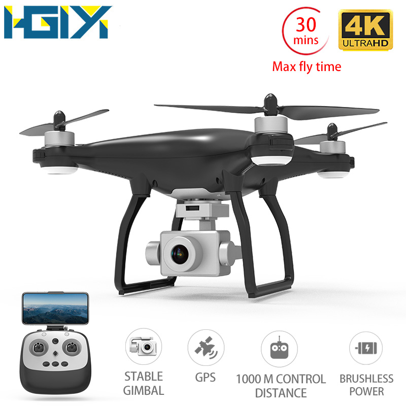 HGIYI X35 GPS Drone 4K HD Camera RC Quadcopter Drones Profissional Gimbal Stabilizer 5G WiFi FPV Brushless Motor 30mins Flight