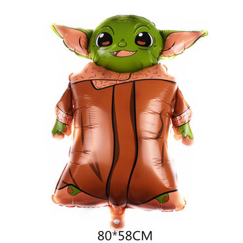 1PC gwiezdne wojny s balony gwiezdne wojny zielone dziecko Yoda wojownik Robot balon foliowy dzieci dzieci chłopcy dekoracje na przyjęcia urodzinowe tanie i dobre opinie Disney Zwierzę kreskówkowe PENTAGRAM Taśmy POROŻA W kształcie rogu antylopy UCHO KRÓLICZE Myszka Miki GEST Postać rysunkowa