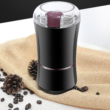 Home Electric Coffee Bean Grinder EU Plug Mill Grinding DIY Tool Multipurpose Herbs Salt Pepper Spices Nuts Grains Mini 400w electric coffee grinder mini grains spices hebals cereals coffee dry food grinder mill grinding machine kitchen appliance