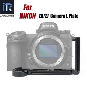 Image 2 - INNOREL LPN Z6/Z7 L Quick Release Plate Bracket Hand Grip for Nikon Z6/Z7 Camera Tripod Head for Vertical or Horizontal Shooting