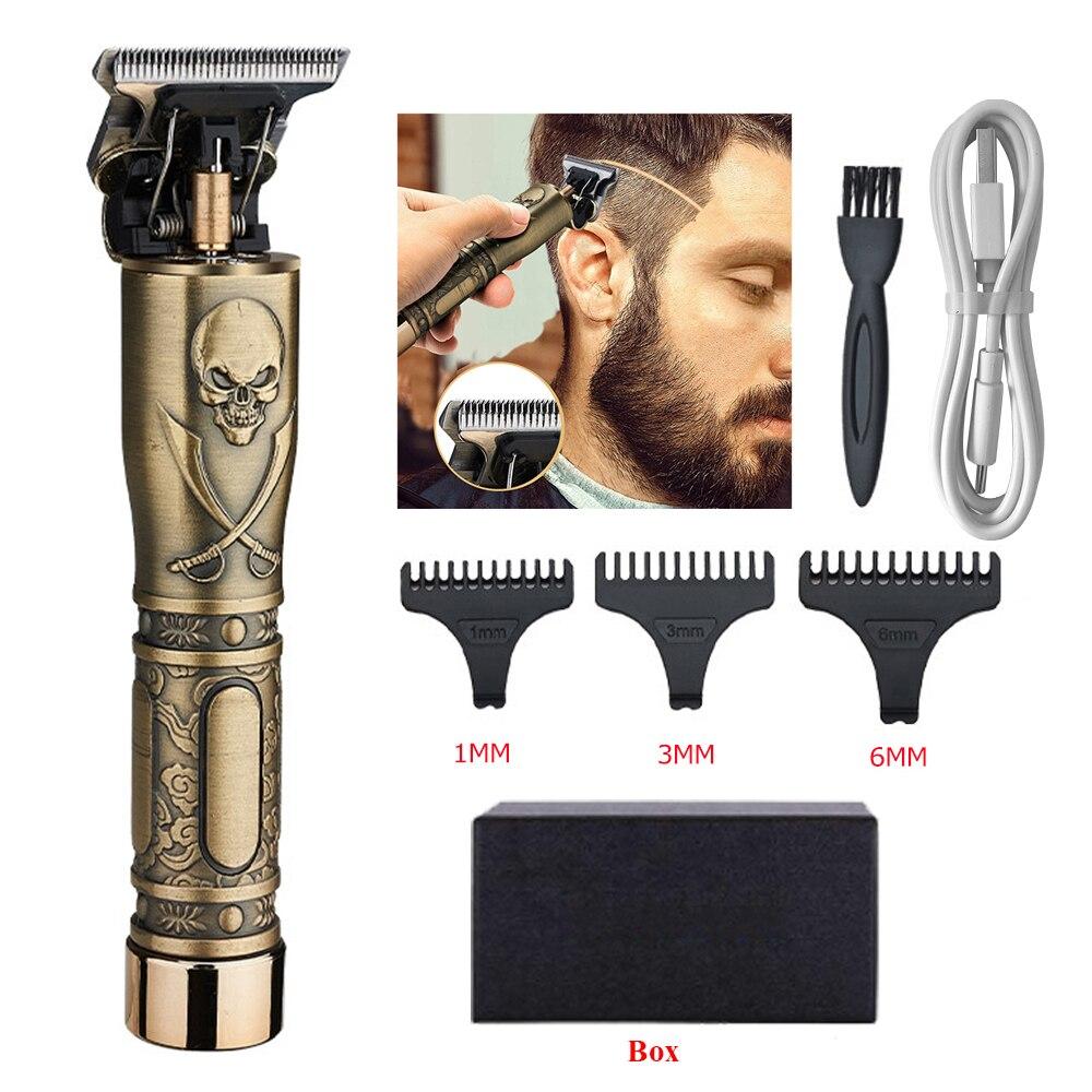 Electric Hair Clipper Rechargeable Shaver trimmer Professional Hair Trimmer Cordless Men Hair Cutting Machine Beard razor