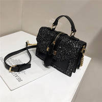 Hand Bags for Women 2020 Chain Crossbody Bag Fashion Sequin Flap Small Handbag