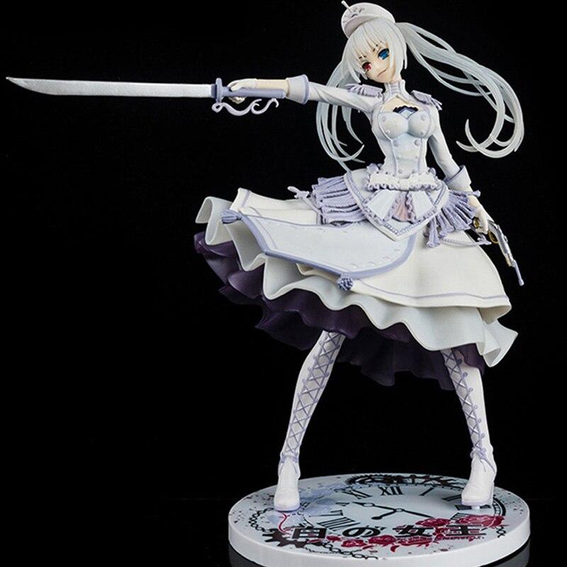 27cm japon DATE une balle Tokisaki Kurumi figurine Anime PVC reine de blanc filles Sexy Collection modèle poupées jouets pour cadeaux