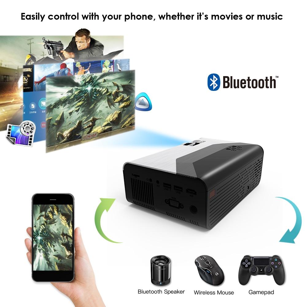 Crenova mini projetor suporte 1080p g08 3000 lúmen opcional android g08c wifi bluetooth para o telefone led projetor 3d casa filme-4