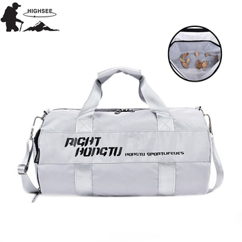 Sport Bag For Women Fitness Gym Waterproof Training Bags With Shoes Compartment Outdoor Travel Shoulder Handbag - discount item  39% OFF Sport Bags